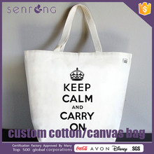 Fashionable Design Pattern Cotton Bag Cheap Canvas Tote Bags