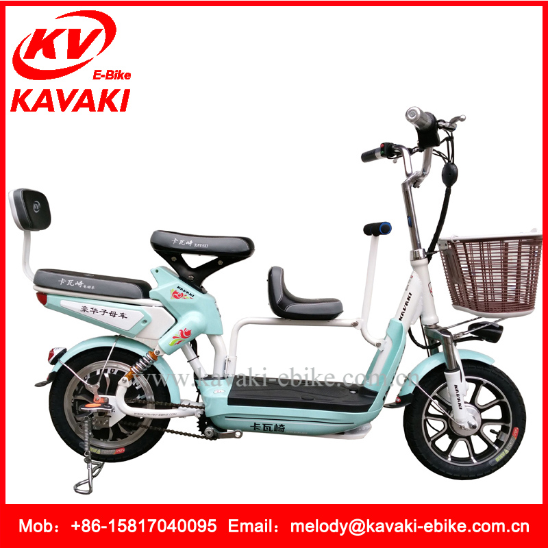 Popular Style 14 Inch Three People Electric Bicycle Hidden Power Electric