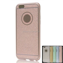 glitter TPU+PC combo back cover bumper case for Huawei honor ascend lite mate8 P 9 gr3 y 6 5 max plus 7