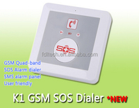 FDL-K1 GSM Elderly guarder Directly push to dial out,gsm auto dialer / SOS Emergency call cell Phone