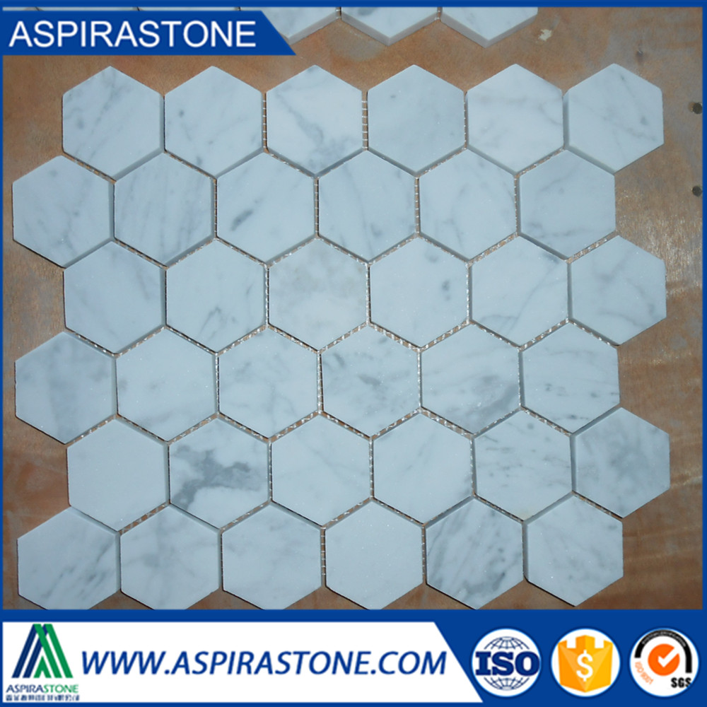 suppliers carrara marble mosaic for tile