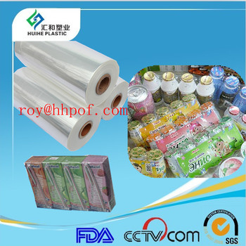 (12 15 19 25 30 micron ) 3 Layer Polyolefin Pof Shrink Wrapping Film