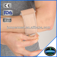 orthopedic beige tennis elbow brace