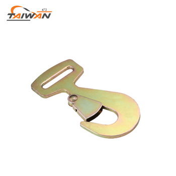 OEM durable ratchet tie down metal flat hook