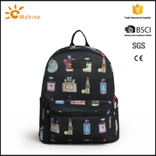 Factory promotion custom canvas camera laptop backpack