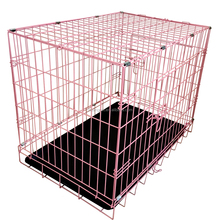 Soft Dog Crate/Pink Dog Crate/Double Dog Crate
