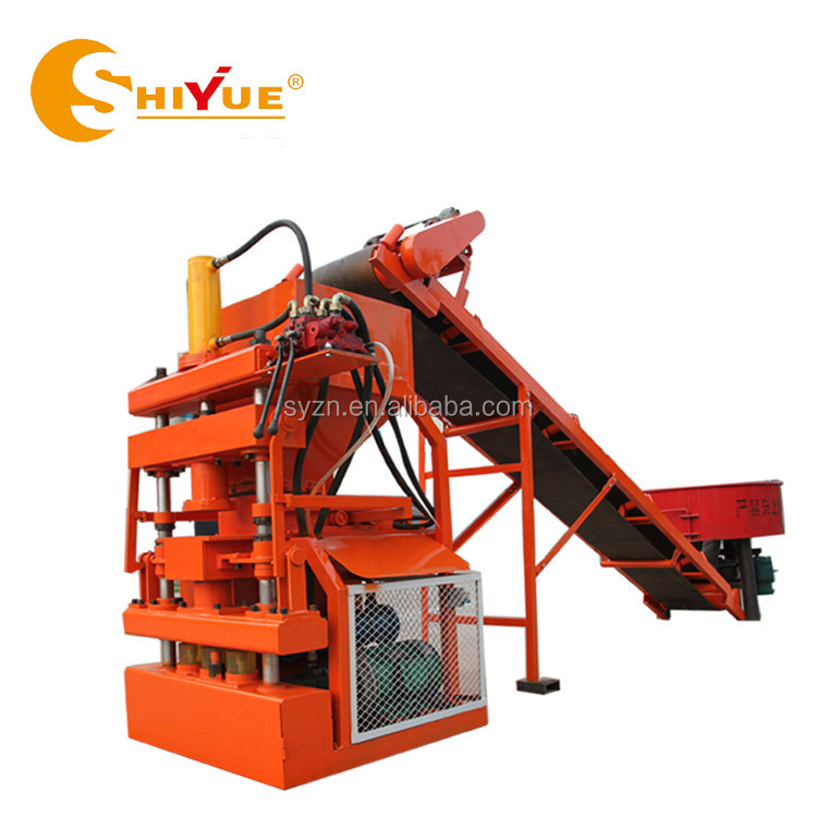 LY1-10 coal ash brick making machine/paving block making machine