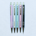 Customized Logo Promotion Propelling Pencil Elegent Metal Stainess Steel Pencil Click Mechanical Pencil