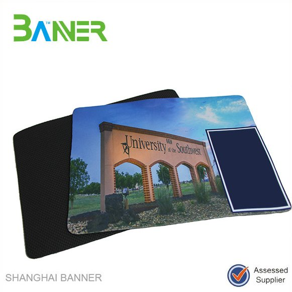 Promotional Customized logo printed rubber gaming mouse pad