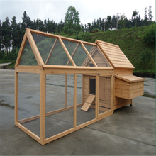 Wooden chicken coop outdoor breeding pigeon cage