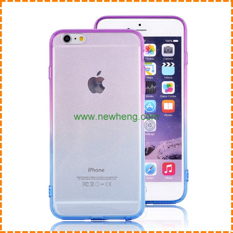 Colorful Tpu Skin Back Cover Case for iphone 7/7 plus,cover cases for iphone 7