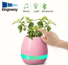 Eco-Friendly European Stytle Home And Garden Decoration Handcraft Ceramic Music Flower Pot Wholesale