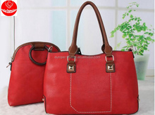 2 in 1 ladies Handbags new design big bags made in China Guangzhou