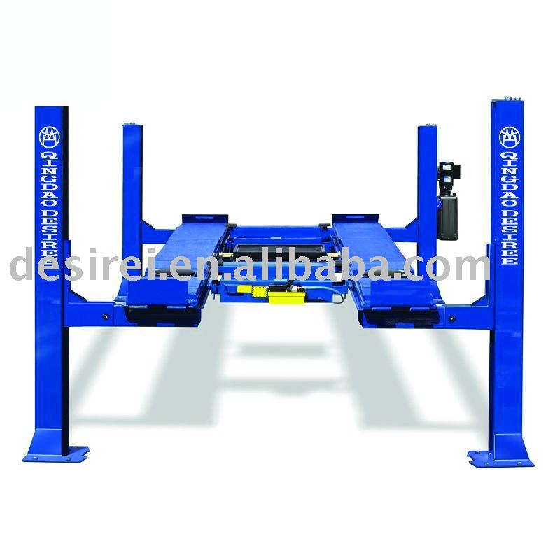 single point release Alignment 4post lift