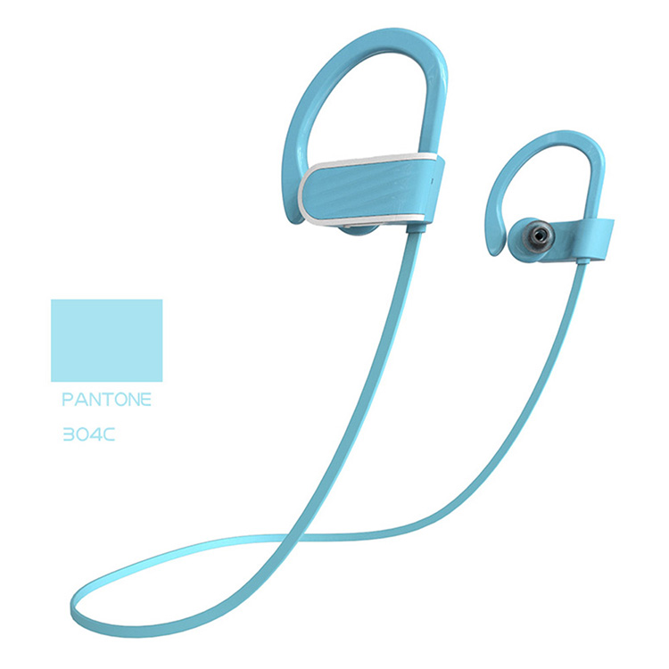 2017 Super Bass radio microphone stereo Universal sport earbuds wireless bluetooth headset for calling listening music