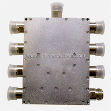 RF Microstrip Poder divisor & Splitter 8way Tipo NF <span class=keywords><strong>Fer</strong></span> <br/>: 1.8-2.4 GHz