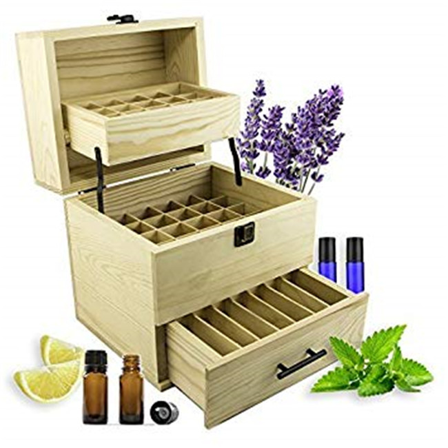 Wholesale Wooden Display Stand For Essential Oil Promotion