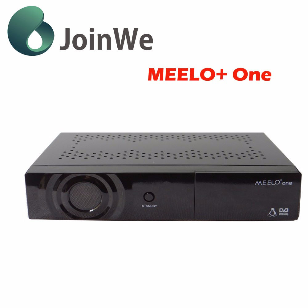 Best selling full HD satellite tv receiver MEELO one 750 DMIPS Processor Linux Operating System DVB-S2 decorder