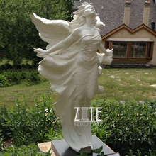 Customized Service Marble marble large angel statue
