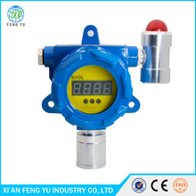 Fixed wallmounted gas detctor CL2 chlorine gas detector