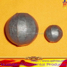 Forged wrought iron steel grinding ball with all kinds of diameter
