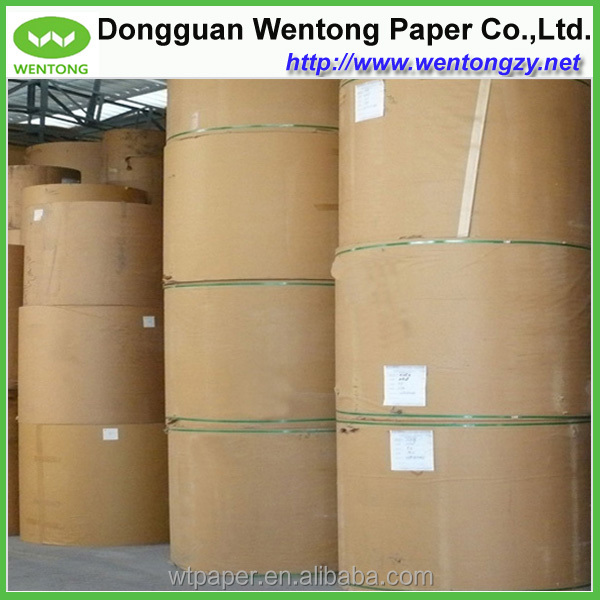 Renewable and recyclable China mills kraft paper