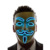 Halloween party high brightness el wire mask