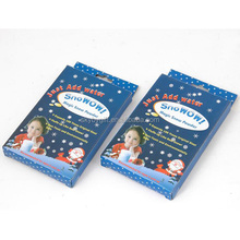 Powder Fake Fluff Instant Christmas Xmas Snowman Add Water Artificial magic snow