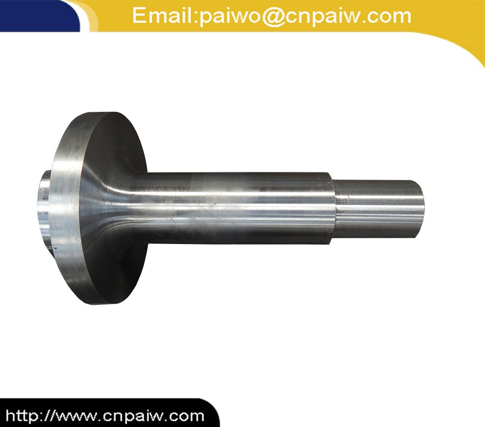 Forged Precision CNC machining stainless steel wind turbine shaft for wind power construction