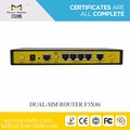 dual sim dual module 3G wcdma 4G lte industrial router for smart building video monitoring