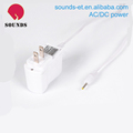custom 5V 1A white power adapter