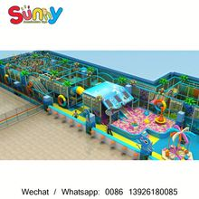 Plastic Soft Play Playground Material used commercial play school equipment used indoor playground equipment for sale