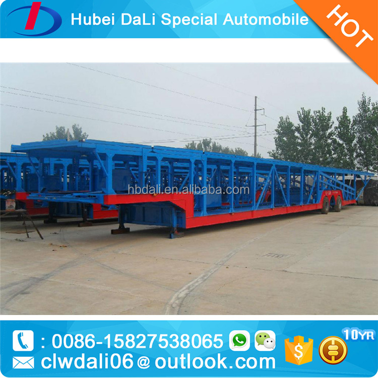 Large capacity tri axles car transportion truck semitrailer with factory price on hot sale