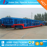 Large Capacity Tri Axles Car Transportion