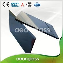 High Quality Sunproof Skyscraper Building Anti Reflective Float Glass 4-12mm