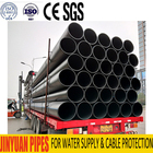 pe 100 hdpe pipe manufacturer with price list for water supply pipe-sample