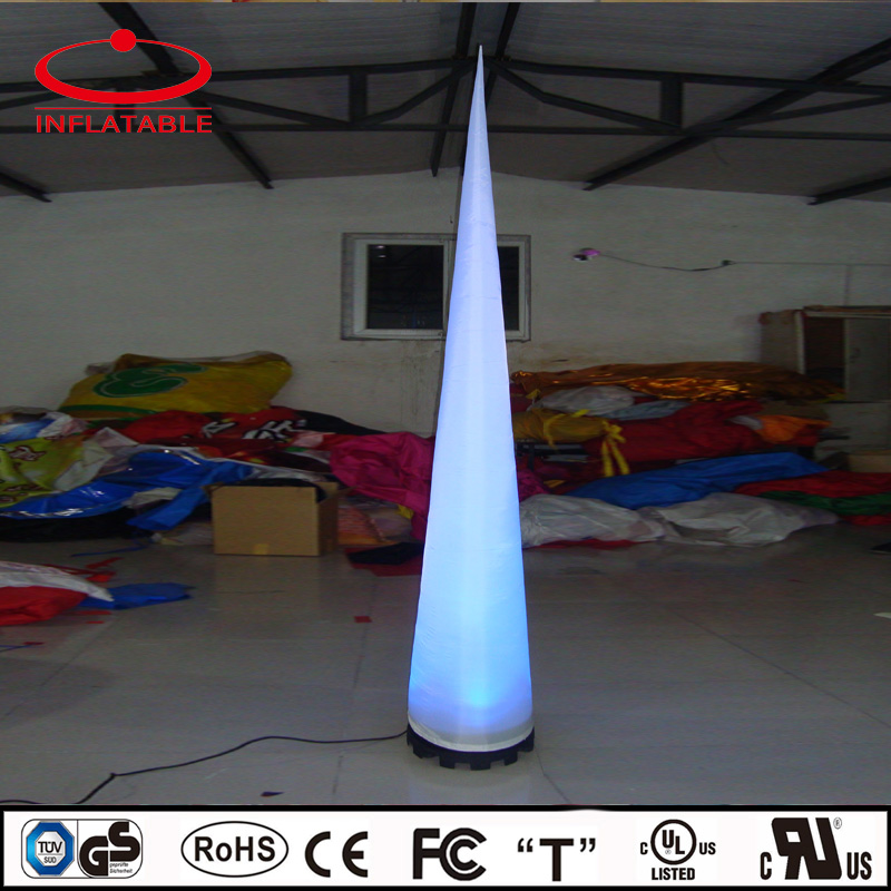 inflatable event lighting decoration cone