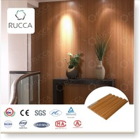 2016 wood composite pvc wall paneling in home depot 159*10mm interior decoration Guangdong China building materials