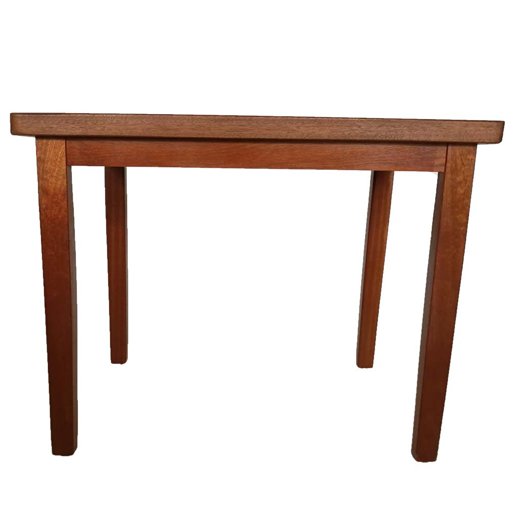 Rectangular Dinning Table in Natural Pine Wood Finish table wood dining