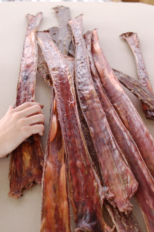 Beef Jerky (weasand) - PET FOOD