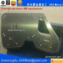 XAX89Alu OEM ODM customized laser cut bend weld sheet aluminum alloy diamond hole perforated metal panel box