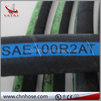 22 mm R2 2015 hot two wire braid high pressure hose