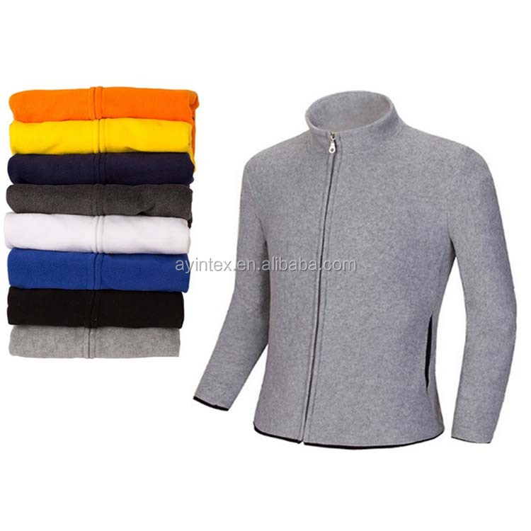 Factory OEM Men Women Fashion 100% polyester Polar fleece Jacket Warm Anti-pilling Soft shell sport wear