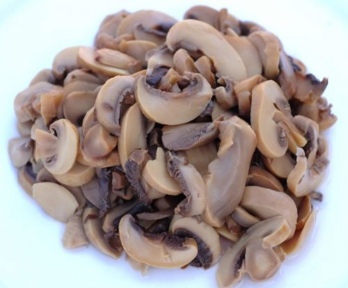 canned food manufacturer factory price mushroom pieces for sale