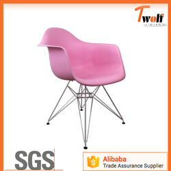 cheap modern plastic dining table and chair / armchair / cafe chairs T835