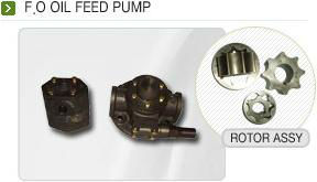oil feed pump