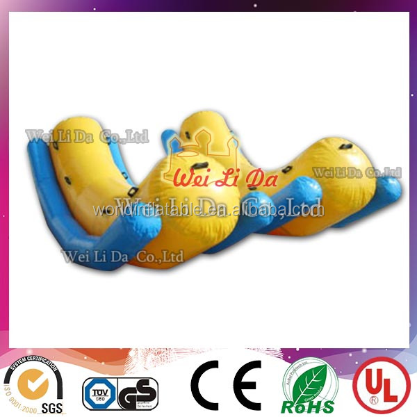 China factory pvc inflatable banana float plastic pool banana boat for sale big banana inflatables