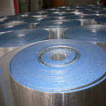 Reflective single foil aluminum XPE foam thermal insulation