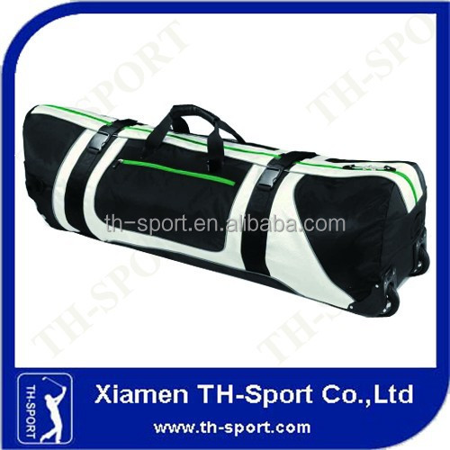 White And Black Travel Nylon Golf Bag Covers
