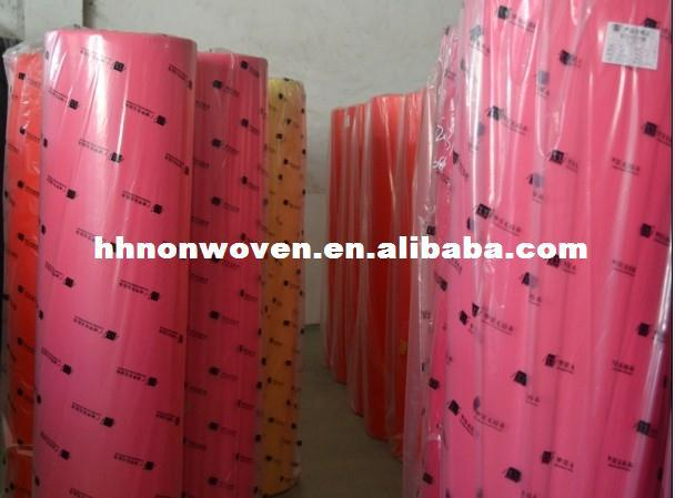 Viscose Polyester Nonwoven Fabrics for Embroidery Backing